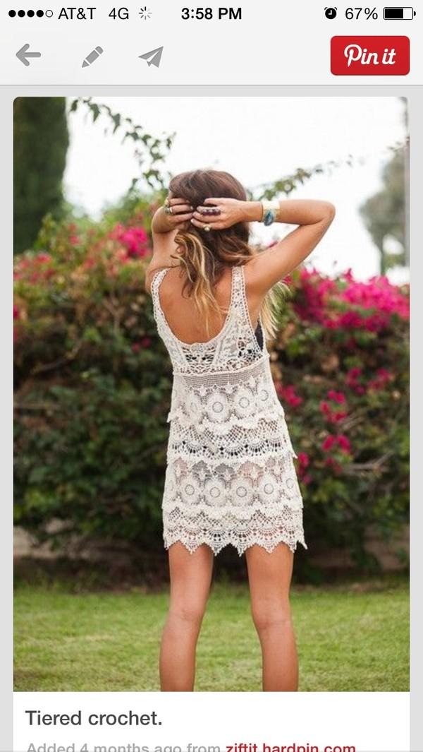 dress crochet dress