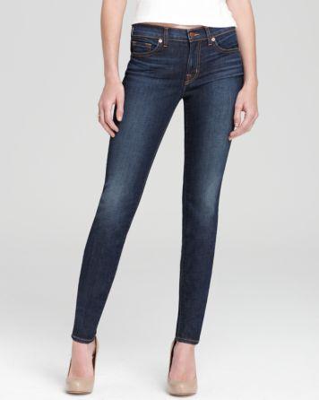 J Brand Jeans - Mid Rise 811 Skinny in Dark Vintage Wash | Bloomingdale's