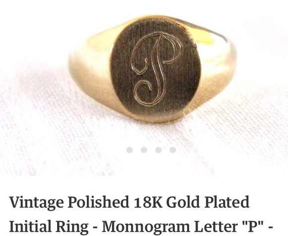 jewels ring initial harry styles ring