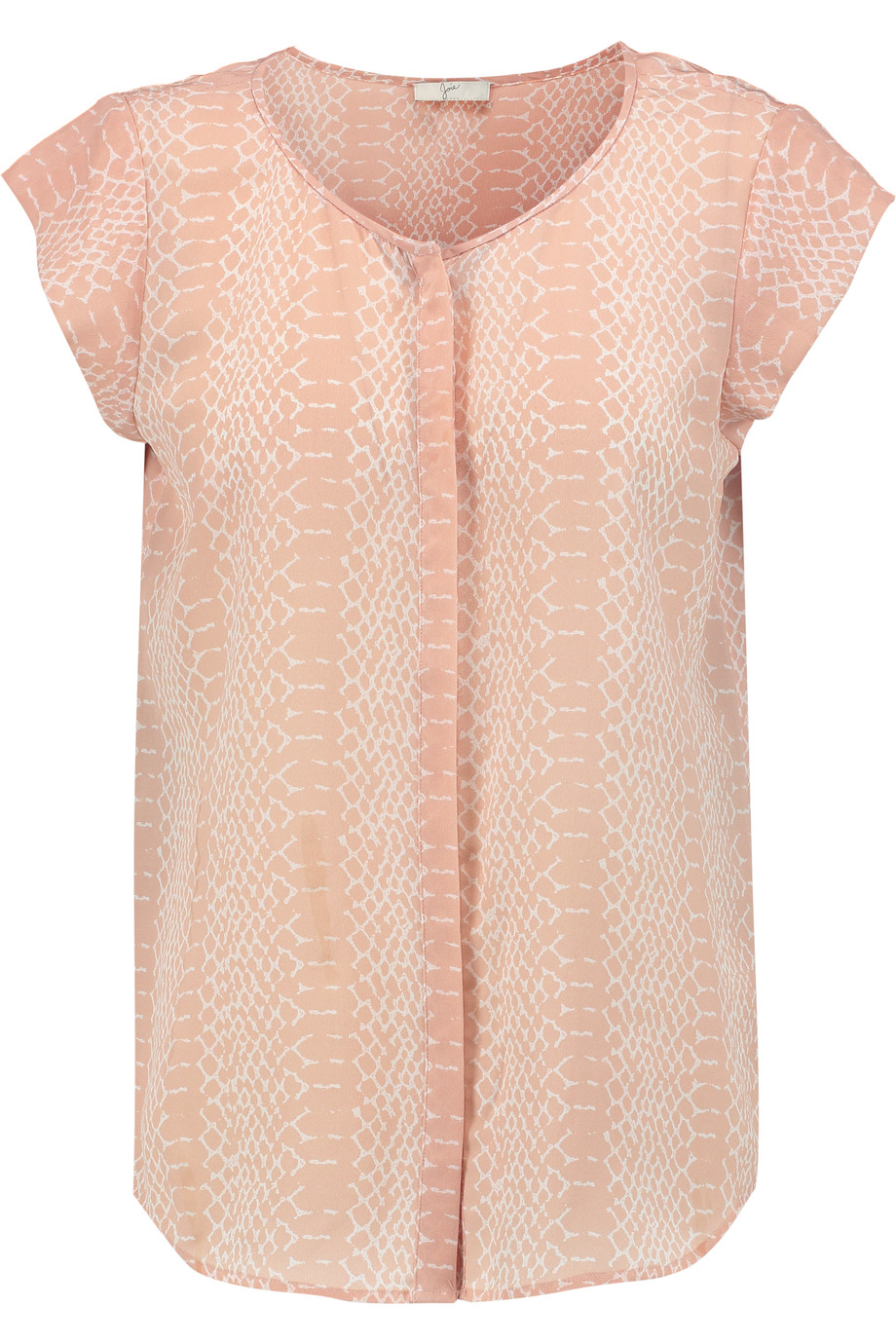 Iva snake-print washed-silk top | Joie | US | THE OUTNET
