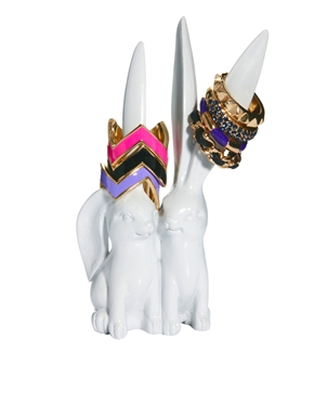 ASOS | ASOS Bunny Ear Ring Holder at ASOS