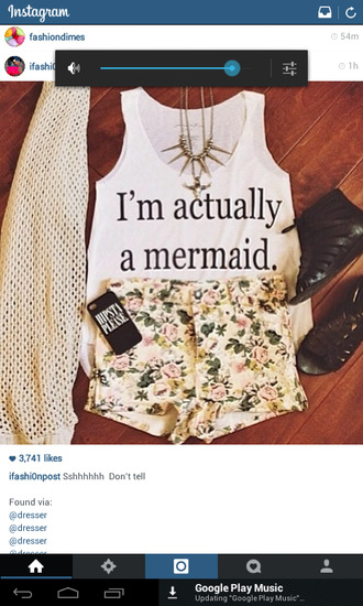 shorts mermaid floral flowered shorts spikes scarf shirt