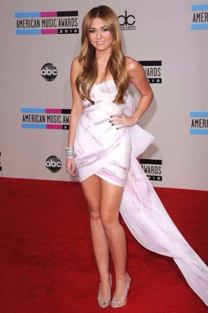 dress miley cyrus short