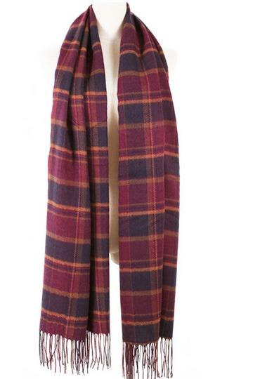 Elegant Stripe and Tassel Details Long Scarves [FQBJ0047]- US$ 8.99 - PersunMall.com