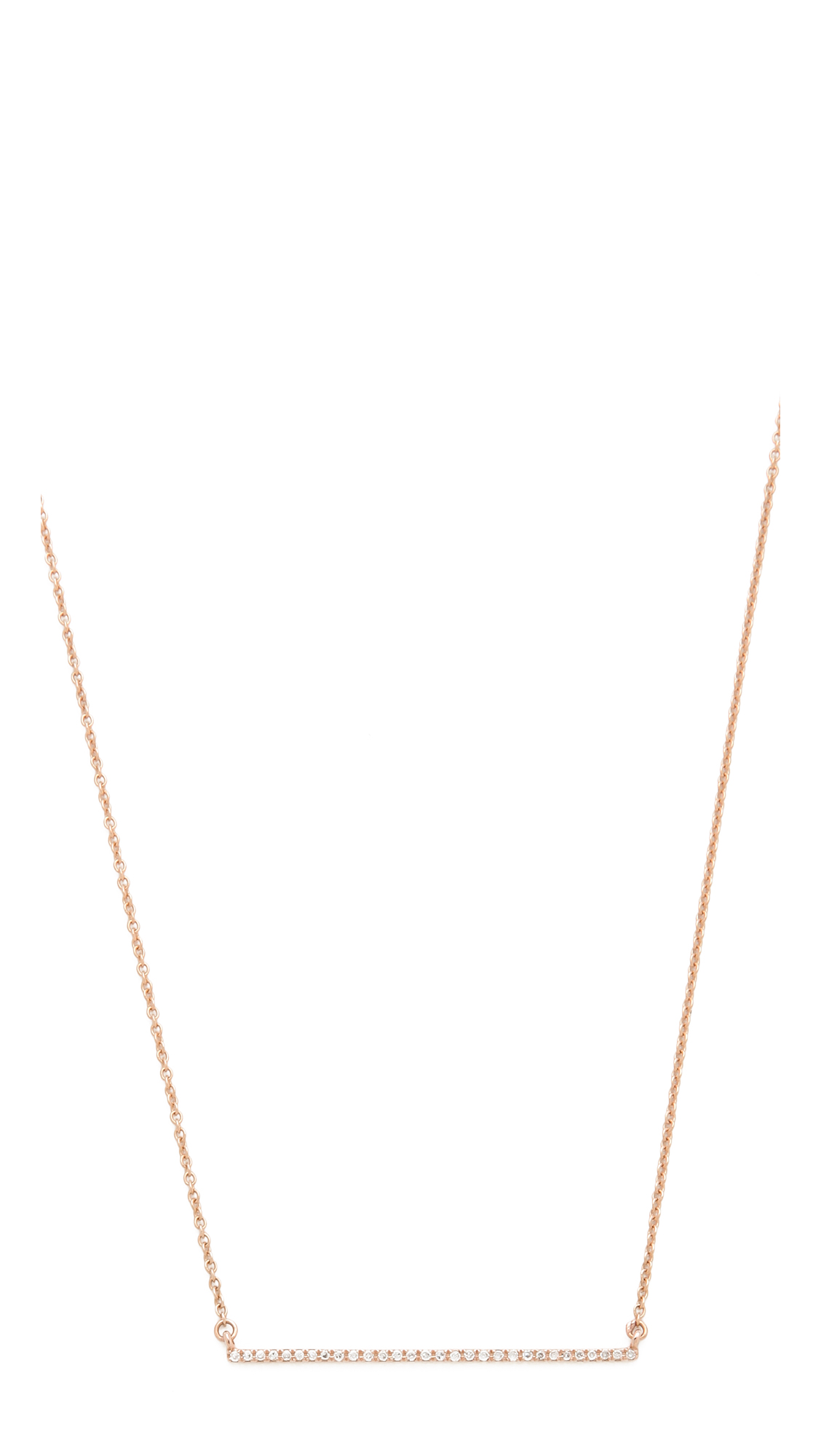 Gabriela Artigas Bar Diamond Necklace | SHOPBOP