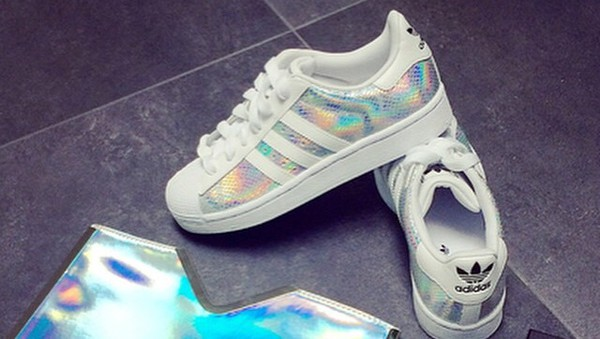 adidas superstar holographic asos