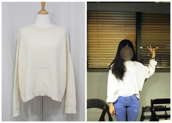 sweater cropped knit knit sweater cream