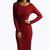 Susan Long Sleeve Midi Dress