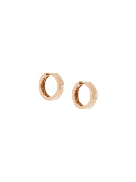 Jezebel London rose gold rose women earrings gold grey metallic jewels