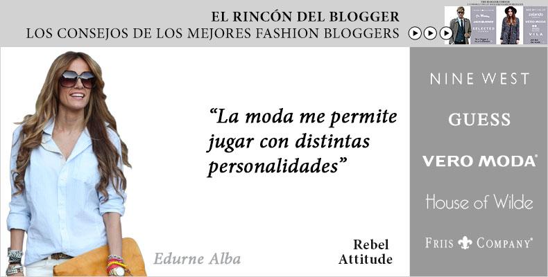 Rebel Attitudes- El rincón del blogger | Zalando.es
