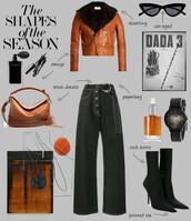 fashionlandscape,blogger,sunglasses,jacket,shoes,jeans,jewels,bag,fall outfits,leather jacket,sock boots,fall colors,shoulder bag