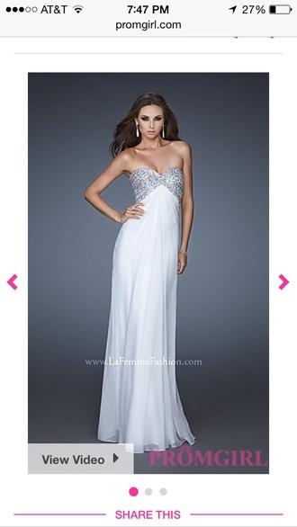 dress sparkly bra shaped prom dress