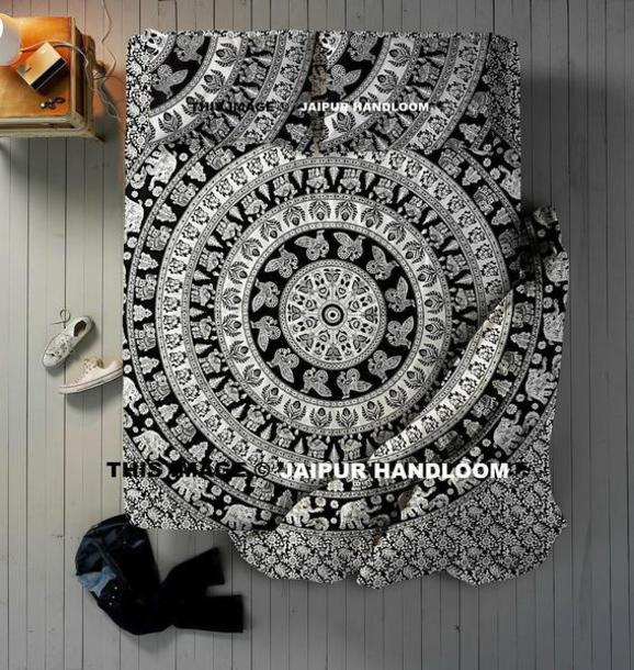 home accessory mandala bedding set indian duvet cover set cotton bedding bedspread and pillows queen sheets wall hanging mandala tapestry sofa cover twin bedding beach throw