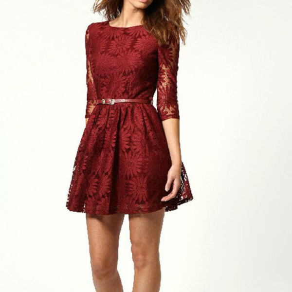 dress elegant lace