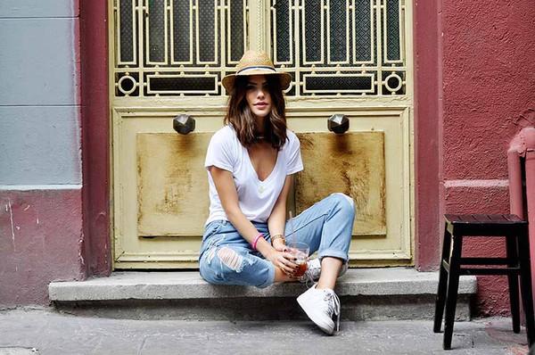 maritsa t-shirt jeans jewels