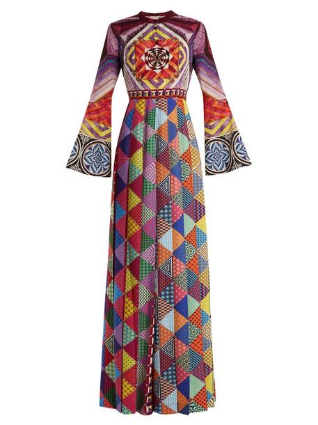 MARY KATRANTZOU gown silk dress