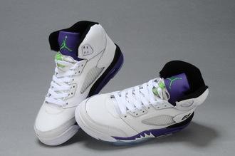 shoes jordans white purple black green