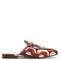 Princetown web chain-print satin loafers