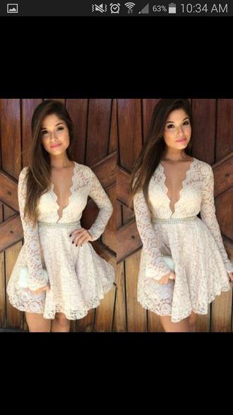 dress lace dress white dress short dress