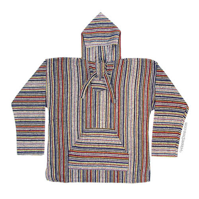 Classic pullover baja hoodie on sale for $19.95 at hippieshop.com