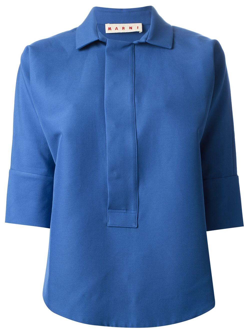 Marni Three Quarter Length Sleeve Shirt Torregrossa