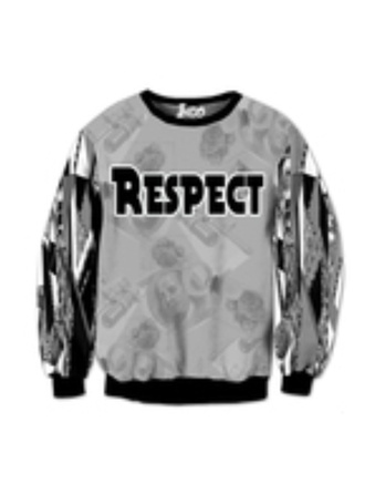 sweater respect shirt leopard print top loyal selena tv famous yellow quote on it
