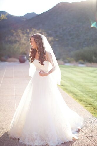 dress white dress wedding dress