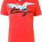 Kenzo - bird print t-shirt - women - cotton - m, red, cotton