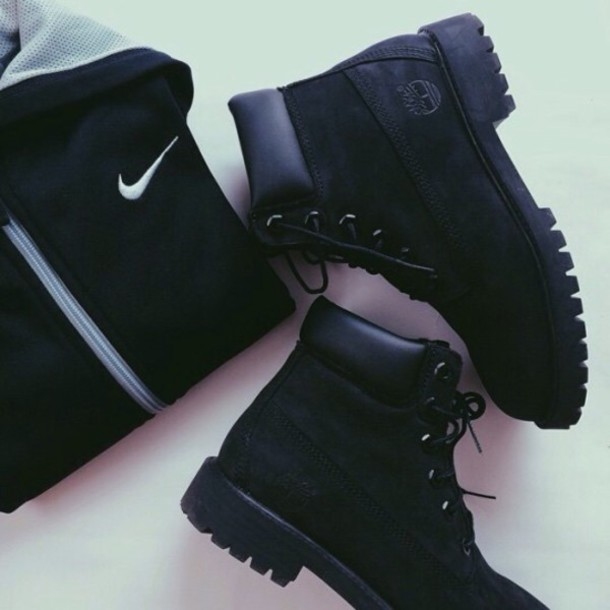 Perfect Shoes Black Timbs Black Timberland Boots Timberland Style Black Boots