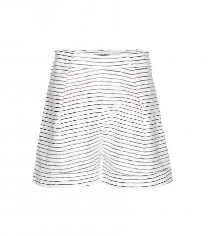 Sea Stripe Linen Shorts  * Acne Studios ► mytheresa