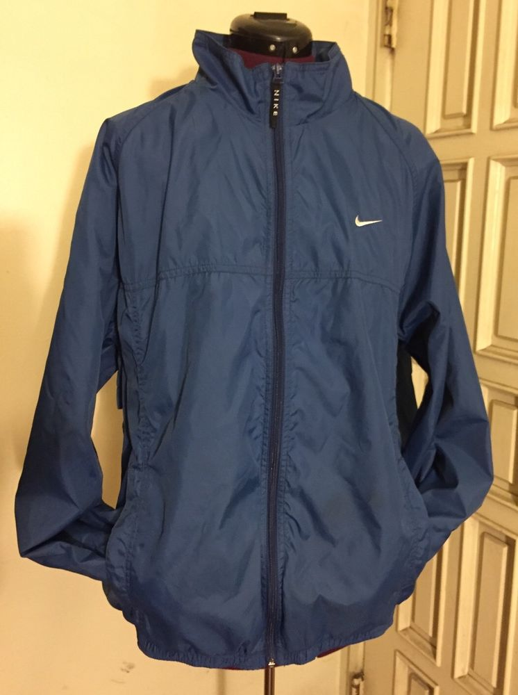 NIKE WINDBREAKER JACKET BLUE MEN LARGE✨