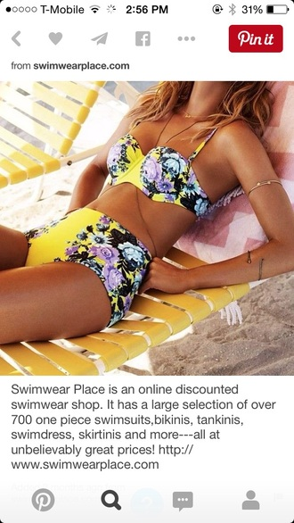 swimwear high waisted swimwear two piece bikini