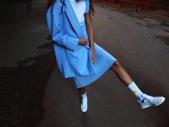 dress skirt jacket blue skirt blue jacket