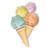 ETUDE Sweet Recipe Ice Cream Nails Nail Polish by ETUDE HOUSE | KollectionK.com