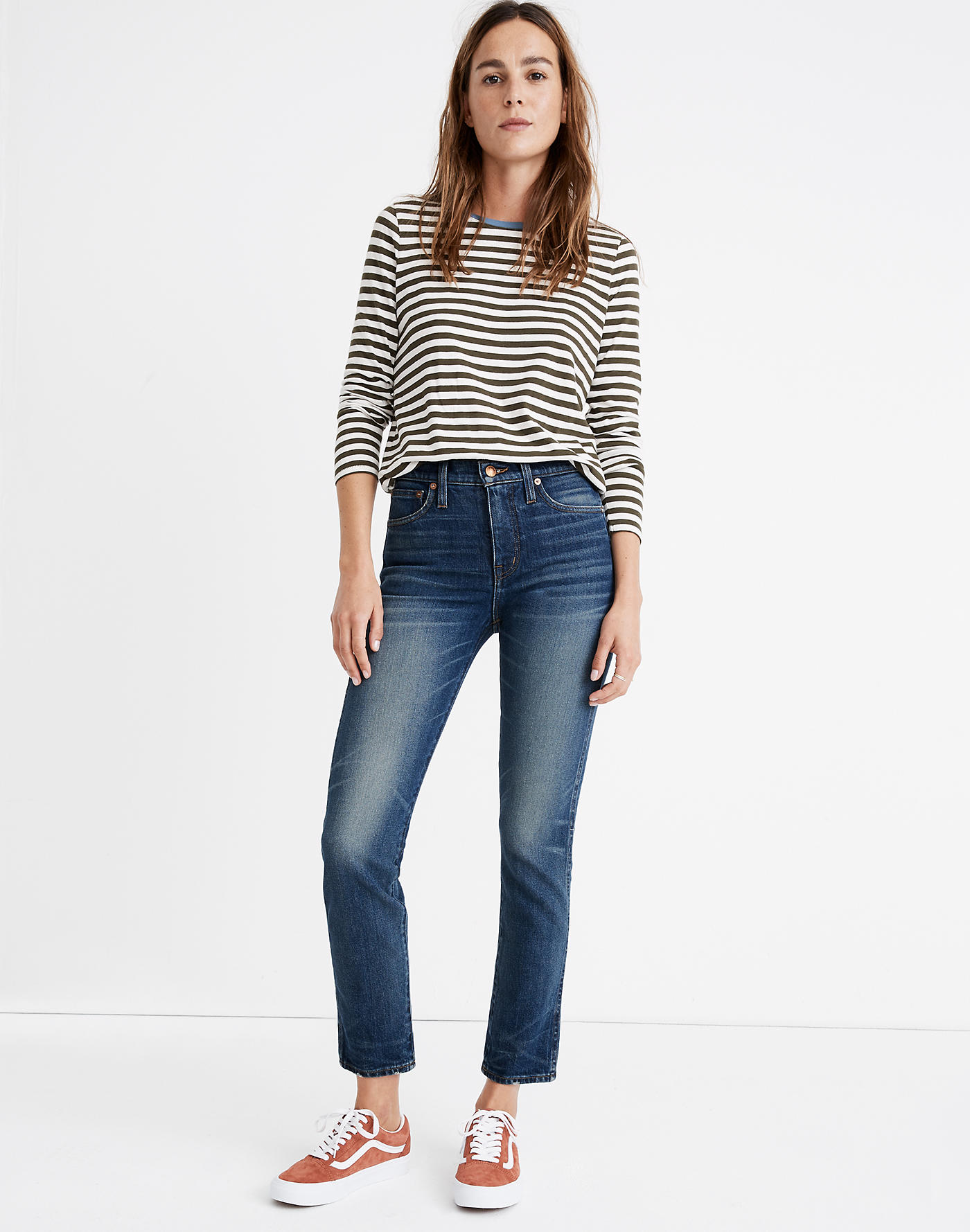 Rivet & Thread High-Rise Stovepipe Jeans