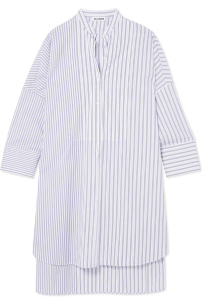 Jil Sander tunic white cotton top