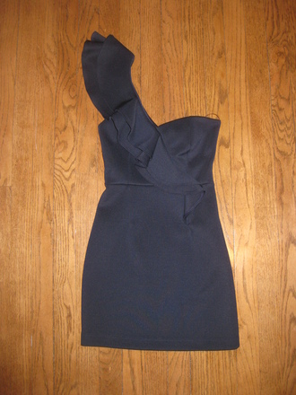 dress one shoulder dresses one shoulder one shoulder dress purple one-shoulder dresses blue blue dress navy navy dress party party dress clubwear ruffles ruffle dress