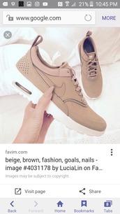 shoes,nude sneakers,air max,beige,sneakers,nike,low top sneakers