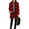 Bb dakota holton plaid coat