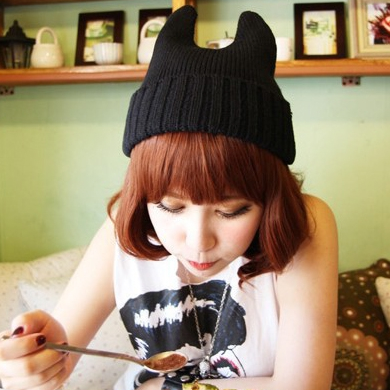 Unisex ear beanie hat · ha