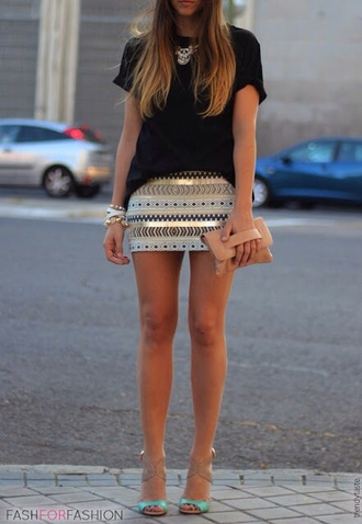 shirt skirt fashforfashion sequin skirt mini skirt exactly this aztec sequin zara cream gold bodycon skirt gold blue summer aztec gold embroidered short pencil skirt aztec bodycon