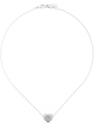 tiger necklace metallic jewels