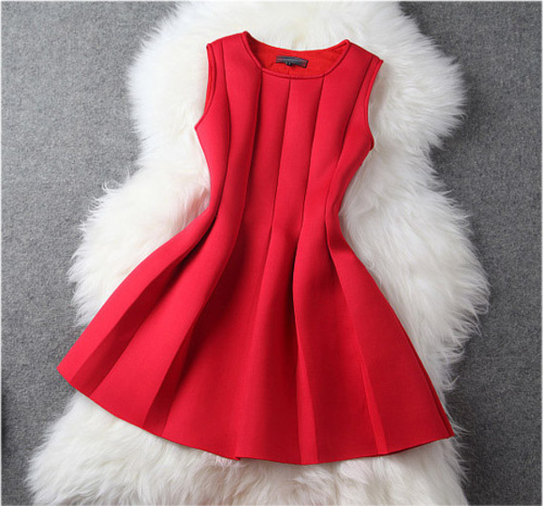 dress red dress high-low dresses