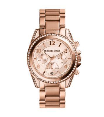 Tone chronograph watch