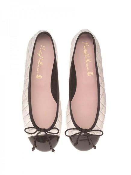 shoes ballet flats bows