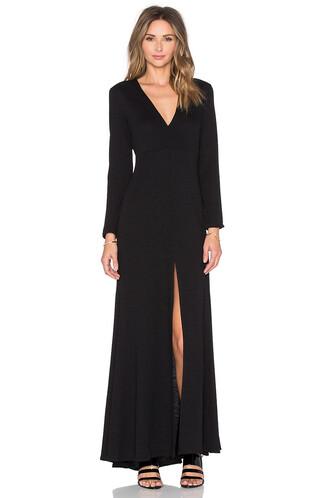 dress maxi dress maxi long black