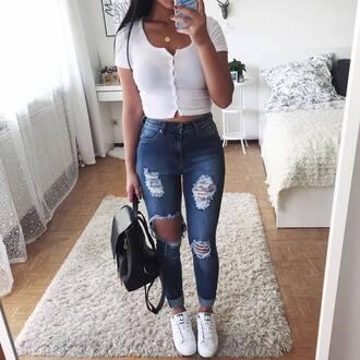 top blouse crop tops