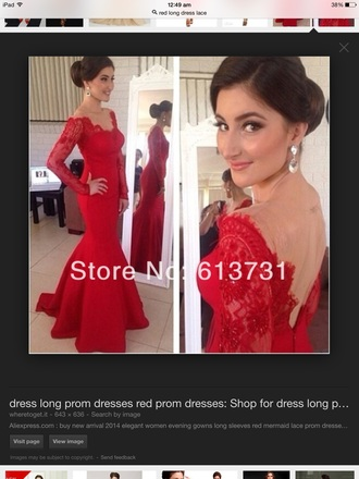 dress 2015 prom dresses gossip girl prom dress prom dresses /graduation dress .party dress red dress lace dress elegant dress