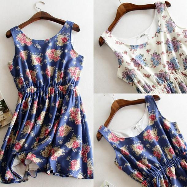 dress women floral dress