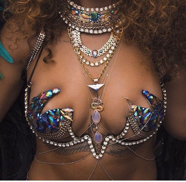 Sparkly Nipple Rings